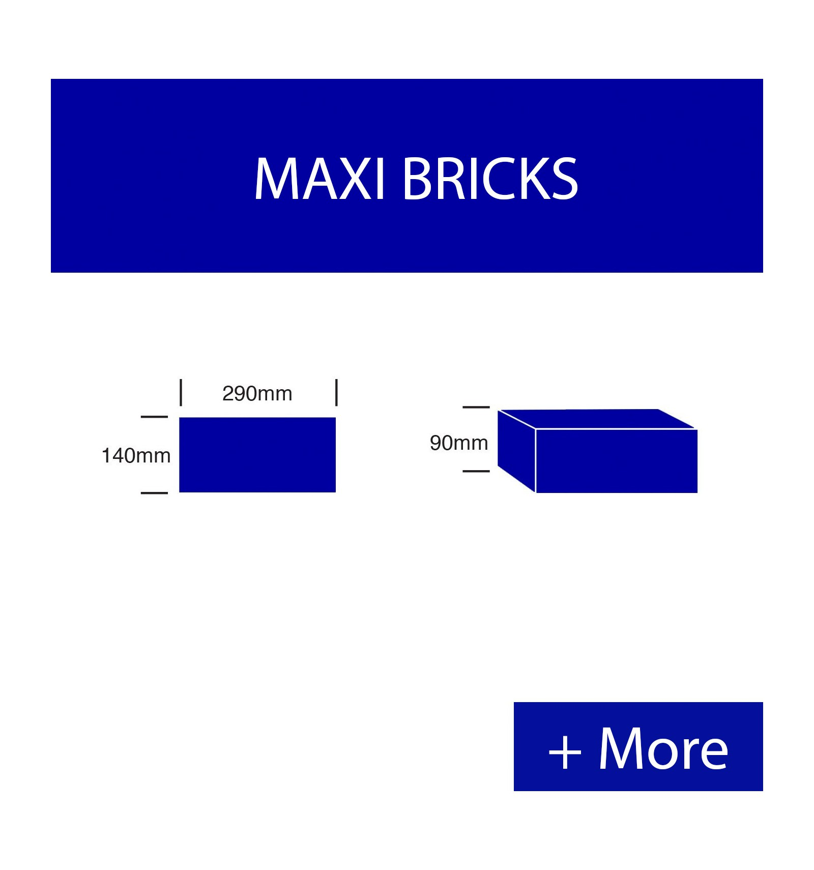 Maxi Cement Bricks: Cement Maxi Bricks 7MPA, 10MPA, 14MPA